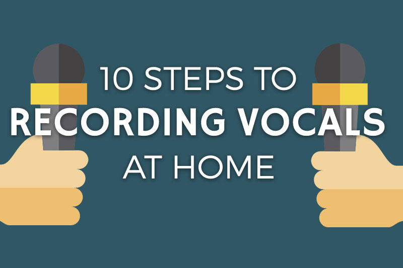 How to Record Vocals at Home - Header Image