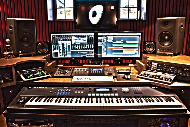 Astonishing 20 Home Recording Studio Setup Ideas To Inspire You Infamous Largest Home Design Picture Inspirations Pitcheantrous