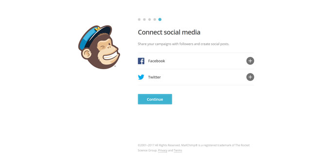 Mailchimp Connect Email