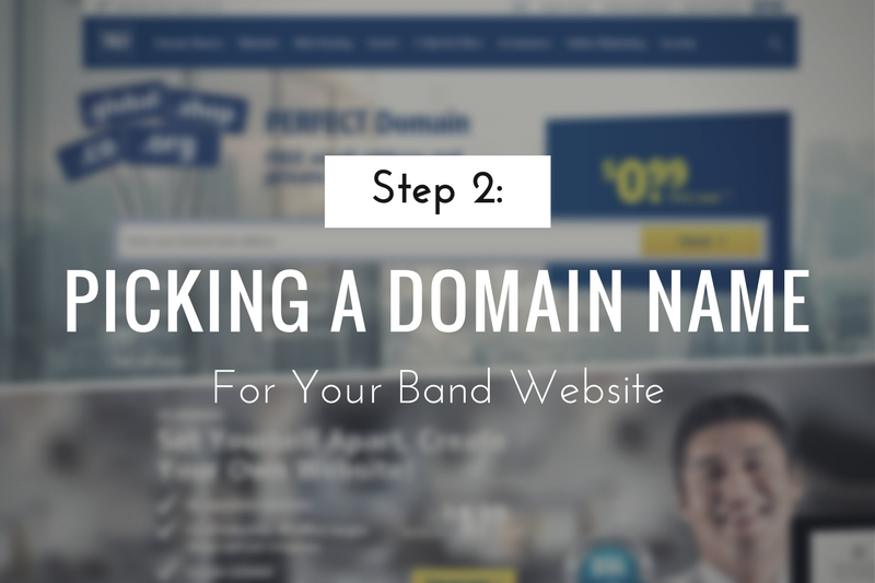 Picking a Domain Name for your Website