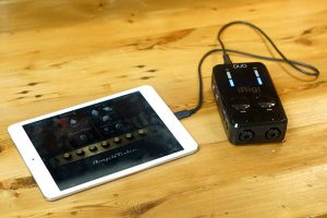 iRig Pro DUO with iPad
