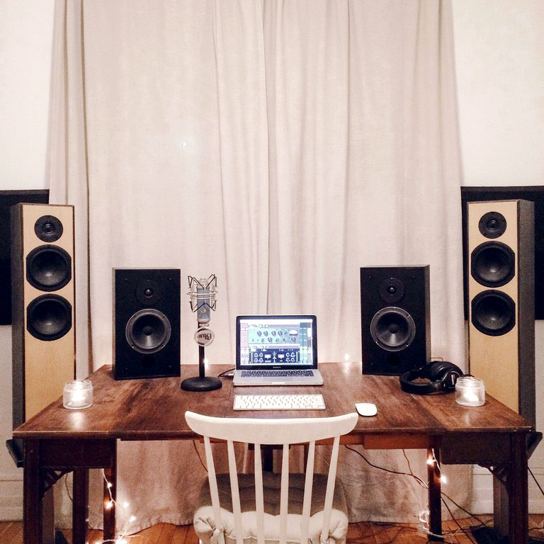 Kitchen Table Home Studio