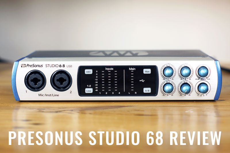 Presonus Studio 68 Review
