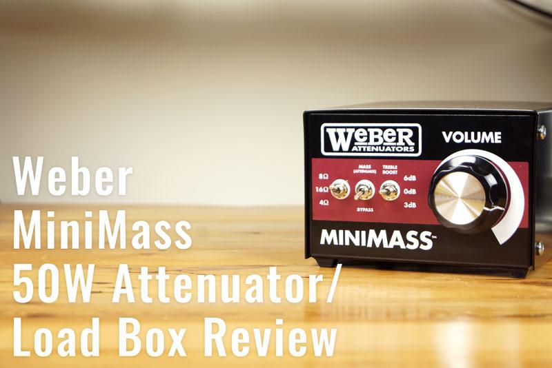 Weber MiniMass 50w Review