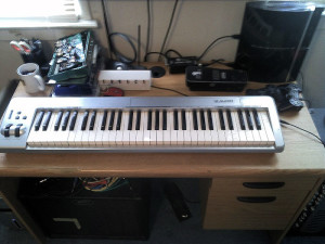 Home Studio Rundown Keyboard