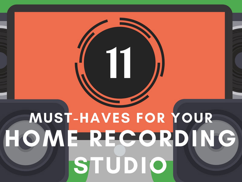 Home Recording Studio Equipment - Header Image
