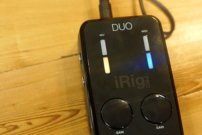 iRig Pro DUO - Setting Levels
