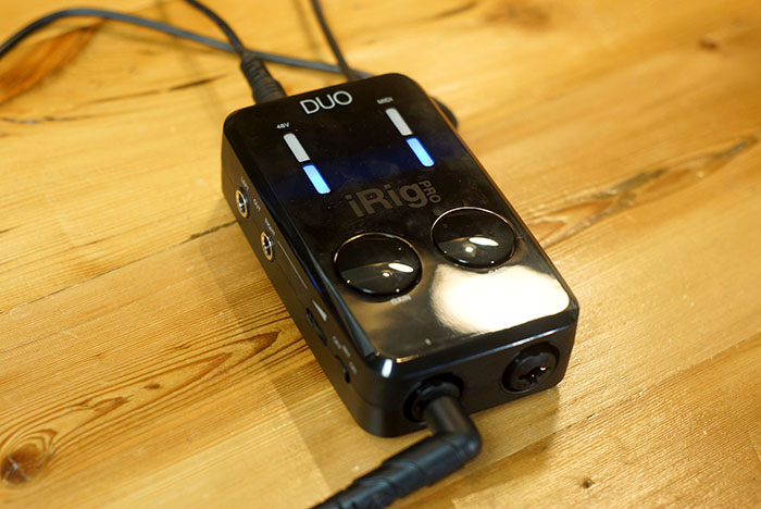 iRig Pro DUO - Set Up