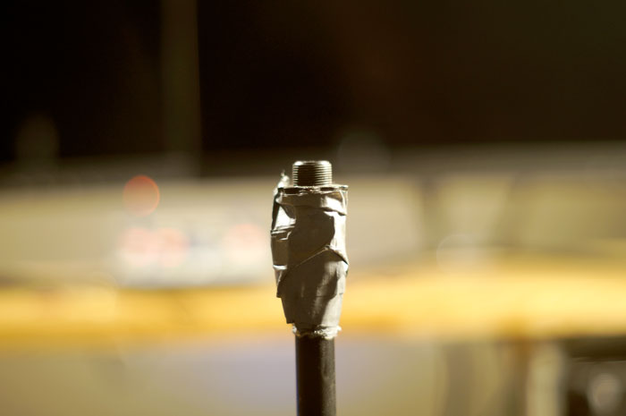Top of a Broken Mic Stand