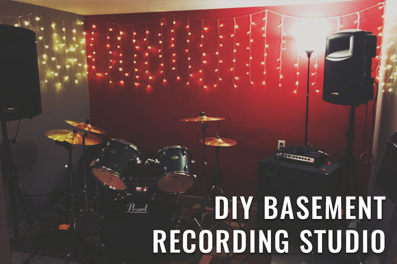 Basement Recording Studio DIY