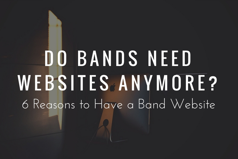 Do Bands Need a Website?