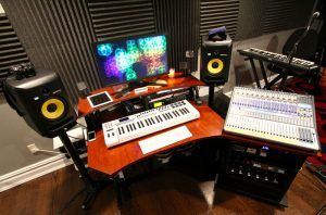Home Studio with KRK Speakers