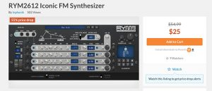 RYM2612 Iconic FM Synthesizer