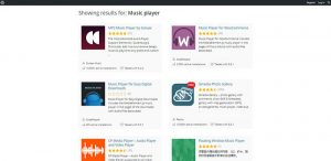 WordPress Music Player Plugins