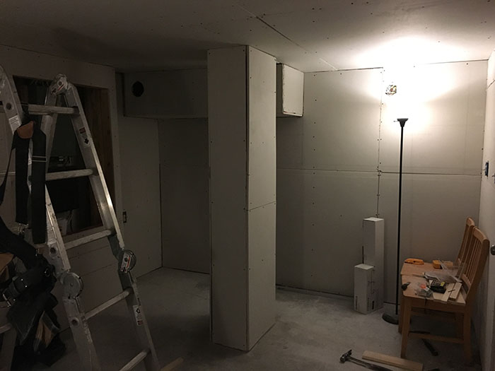 Recording Studio Drywall