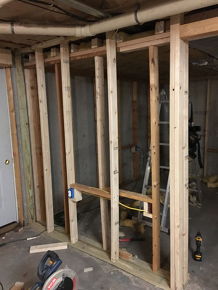 Recording Studio Framing