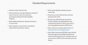 Detailed Requirements Reverb